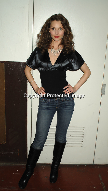 Alicia Minshew..at The All My Children Christmas party on December 8, 2006 at The ABC Studio...Robin Platzer, Twin Images