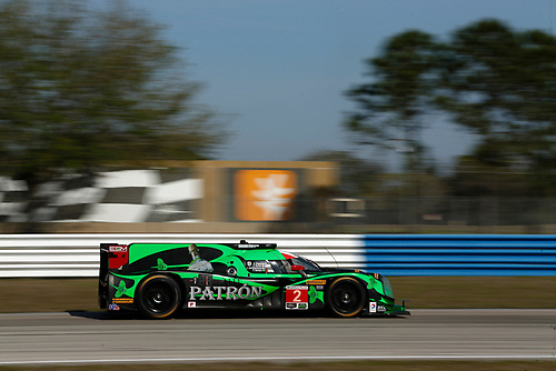 16-19 March, 2016, Sebring, Florida, USA<br /> 2, Honda HPD, Ligier JS P2, P, Scott Sharp, Ed Brown, Joannes van Overbeek, Luis Felipe Derani<br /> ©2016, Michael L. Levitt<br /> LAT Photo USA