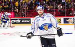 Stockholm 2014-05-03 Ishockey Oddset Hockey Games  Sverige - Finland :  <br /> Finlands Iiro Pakarinen ser glad ut efter att ha gjort m&aring;l p&aring; straff i straffl&auml;ggning och avgjort matchen mot Sverige <br /> (Foto: Kenta J&ouml;nsson) Nyckelord:  Oddset Hockey Games Sverige Swe Tre Kronor Finland Fin Globen Ericsson Globe Arena jubel gl&auml;dje lycka glad happy