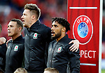 Ashley Williams of Wales sings the national anthem during the World Cup Qualifying Group D match at the Cardiff City Stadium, Cardiff. Picture date 2nd September 2017. Picture credit should read: Simon Bellis/Sportimage