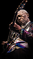 B. B. King and his Band Play Tipitinas in New Orleans, LA.
