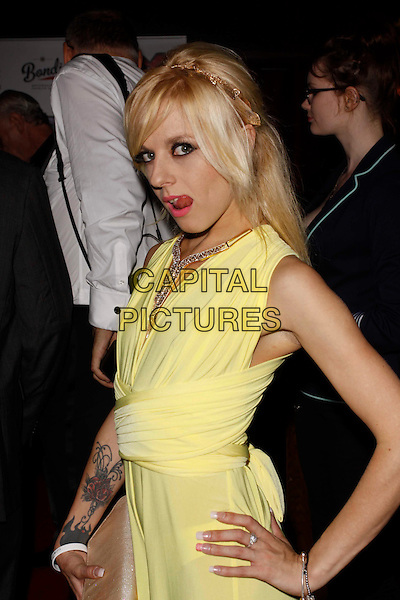 LONDON, ENGLAND - SEPTEMBER 08 :  April Paisley arrives at the TVX SHAFTA Awards 2016 at Rah Rah Room on September 08, 2016 in London, England.<br /> CAP/AH<br /> &copy;AH/Capital Pictures