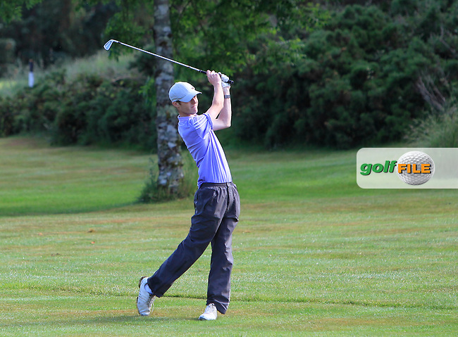 Darragh Conlon (Athenry) on the 12th during Round 3 of the 2016 Connacht Strokeplay Championship at Athlone Golf Club on Sunday 12th June 2016.<br />