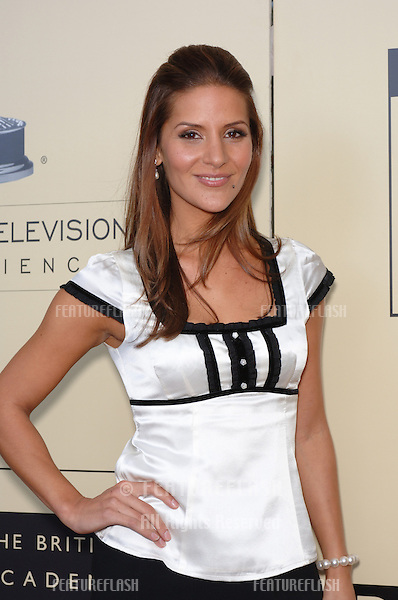 TV presenter AMANDA BYRAM at the BAFTA/LA & Academy of TV Arts & Sciences 3rd Annual Tea Party honoring Emmy nominees..September 17, 2005  Los Angeles, CA..© 2005 Paul Smith / Featureflash