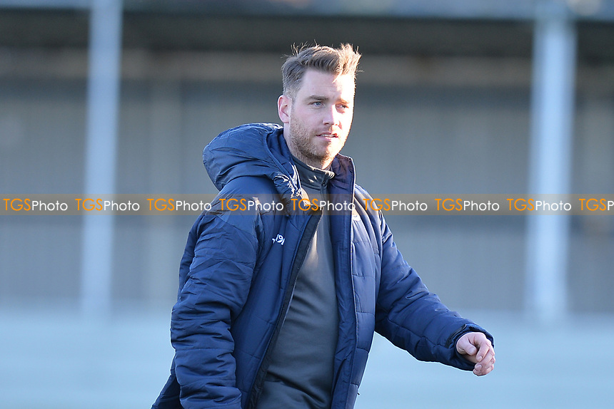 Walthamstow manager Max Mitchellduring Walthamstow vs Sawbridgeworth Town, Essex Senior League Football at Wadham Lodge Sports Ground on 8th February 2020
