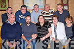 Jackie Kissane, seated centre  from Tarbert, celebrated her 33rd birthday with her family at Kirby's Lanterns Hotel Tarbert on Saturday night.  Pictured front .l-r are Patsy Sheehan, John and jackie Kissane, Josephine Sheehan Sandra Ticicle.  Back l-r dave Kissane, sean, Patrick and Brendan Sheehan and Michael Kissane..   Copyright Kerry's Eye 2008