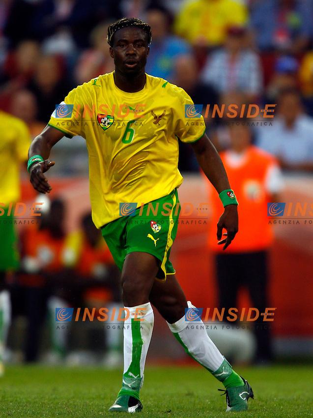 Colonia 23/6/2006 World Cup 2006.Togo Francia 0-2.Photo Andrea Staccioli Insidefoto.Yao Aziawonou Togo