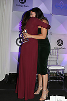 LOS ANGELES, CA - NOVEMBER 8: Gina Rodriguez, Eva Longoria, at the Eva Longoria Foundation Dinner Gala honoring Zoe Saldana and Gina Rodriguez at The Four Seasons Beverly Hills in Los Angeles, California on November 8, 2018. Credit: Faye Sadou/MediaPunch