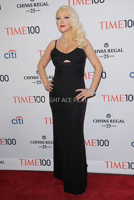 WWW.ACEPIXS.COM . . . . . .April 23, 2013...New York City....Christina Aquilera attends TIME 100 Gala, TIME'S 100 Most Influential People In The World at Jazz at Lincoln Center on April 23, 2013 in New York City ....Please byline: KRISTIN CALLAHAN - ACEPIXS.COM.. . . . . . ..Ace Pictures, Inc: ..tel: (212) 243 8787 or (646) 769 0430..e-mail: info@acepixs.com..web: http://www.acepixs.com .