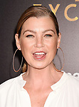 HOLLYWOOD, CA - JULY 27:  Actress Ellen Pompeo arrives at the Premiere Of Amazon Studios' 'The Last Tycoon' at the Harmony Gold Preview House and Theater on July 27, 2017 in Hollywood, California.