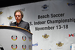 HOLLYWOOD, FL - SEPTEMBER 18: Rich Rose of Beach Soccer North America attends Beach Soccer U.S. Indoor Championships Press Conference at Paradise Live! at Seminole Hard Rock Hotel & Casino on September 18, 2012 in Hollywood, Florida.  to announce six teams from Brazil, Colombia, Mexico, Spain, Venezuela and the United States will compete in the Beach Soccer U.S. Indoor Championships from November 13th -17th at the Hard Rock Live! in the Seminole Hard Rock Hotel & Casino.(Photo by Johnny Louis/jlnphotography.com)