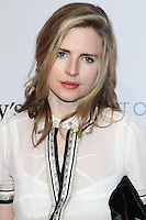 """HOLLYWOOD, LOS ANGELES, CA, USA - FEBRUARY 26: Brit Marling at The Art Of Elysium's 7th Annual """"Pieces Of Heaven"""" Charity Art Auction held at Siren Studios on February 26, 2014 in Hollywood, Los Angeles, California, United States. (Photo by David Acosta/Celebrity Monitor)"""