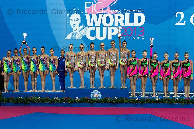"Award Ceremony.5° International Tournament ""Città di Pesaro"" Junior Groups All Around"