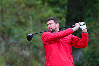 Steve Harmison during the Graham Wylie Foundation- Have A Heart- golf day with Lee Westwood and Ronan Keating at Close House Golf Club, Heddon on the wall, England on 10 September 2018. Photo by Thomas Gadd.