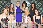 Beautiful ladies from Norma O'Donoghue modelling Agency Killarney enjoying thei postponed Christmas party in the Ross Hotel Killarney Friday night front row l-r: Joanne O'Connor, Victoria Tynan, Eileen O'Sullivan, norma O'Donoghue, Linda Lenihan. Back row: Jennifer Lenihan, Frances O'Connor, Marie Kerin and Aoife Begley