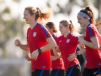 USWNT Training, January 14, 2017