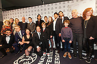 The Netherlands, Rotterdam, 22 January 2015. The 44th International Film Festival Rotterdam - IFFR 2015. Premiere Gluckauf, cast and crew. Photo: 31pictures.nl / (c) 2015, www.31pictures.nl Copyright and ownership by photographer.<br />