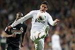 Real Madrid's Raphael Varane during la Liga match on february 18th 2012...Photo: Cesar Cebolla / ALFAQUI