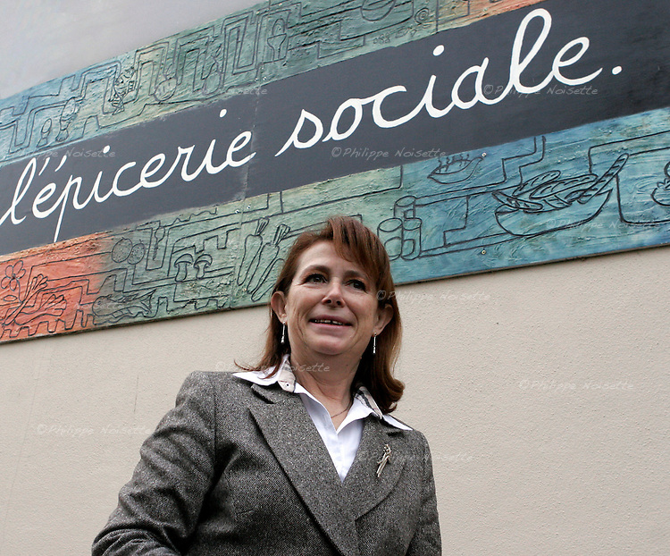 20061201 - France - Normandie - Alencon<br /> MICHELLE LEMAITRE, FONDATRICE DE &quot;L'EPICERIE SOCIALE&quot; A ALENCON.<br /> Ref: MICHELLE_LEMAITRE_001 - &copy; Philippe Noisette
