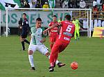 Atlético Nacional venció como visitante 1-0 a Patriotas. Fecha 18 Liga Águila I-2017.