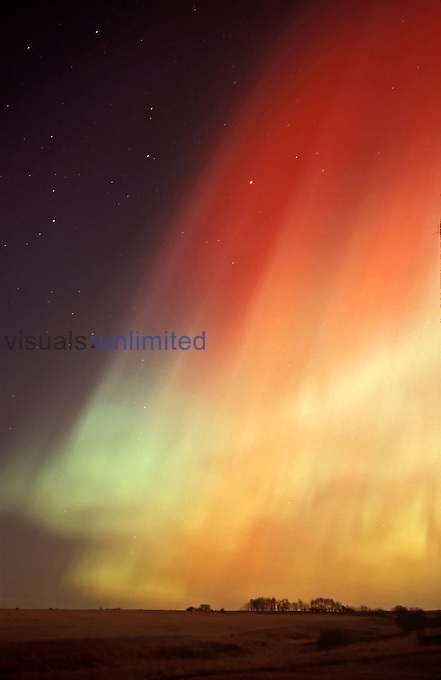 Aurora Borealis, Alberta, Canada.