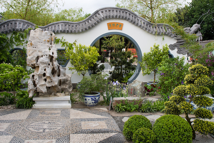 Oriental Chinese Asian Japanese Garden | Plant & Flower Stock ... on idea landscaping outdoor garden design, chinese style garden arbor, formal japanese garden design, asian garden design, japanese bamboo garden design,