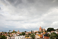 Views from the rooftop bar of the Hotel Boutique Nena. San Miguel de Allende, Guanajuato, Mexico