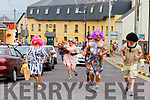 Damsels in distress running at the Ballyheigue Summer Fest Parade on Sunday