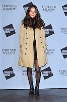 LONDON, UK. November 16, 2016: Aysha Kala at the launch of the Skate 2016 at Somerset House Ice Rink, London.<br /> Picture: Steve Vas/Featureflash/SilverHub 0208 004 5359/ 07711 972644 Editors@silverhubmedia.com