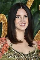 LONDON, UK. December 10, 2018: Lana Del Rey at The Fashion Awards 2018 at the Royal Albert Hall, London.<br /> Picture: Steve Vas/Featureflash