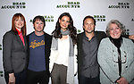Judy Greer, Josh Hamilton, Katie Holmes, Norbert Leo Butz and Jayne Houdyshell attending the Meet & Greet the cast of the new Broadway Play 'Dead Accounts' on October 12, 2012 in New York City.
