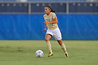 27 August 2011:  FIU's Kim Lopez (7) moves the ball upfield in the first half as the FIU Golden Panthers defeated the University of Arkon Zips, 1-0, at University Park Stadium in Miami, Florida.