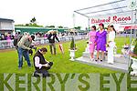 Aoife Kelleher, Listowel, Joan McCarthy Best Dressed Lady from Listowel and Tasha O'Connor, Templeglantine at Listowel Races Ladies Day on Sunday.