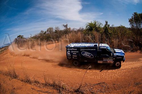 14 08 2010  driver Vanderlei Cassol and   Vieira Carneiro Junior 2010 Rally dos Sertes Brazil