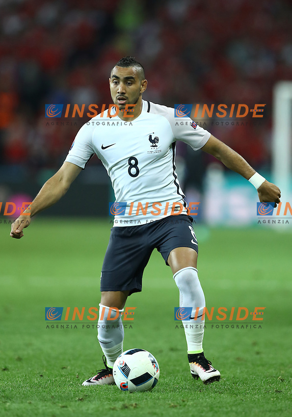 Dimitri Payet France<br /> Lille 19-06-2016 Stade Pierre Mauroy Footballl Euro2016 Switzerland - France  / Svizzera - Francia Group Stage Group A. Foto Matteo Ciambelli / Insidefoto