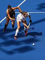 Judith Vandermeiren during the Pro League Hockey match between the Blacksticks Women and Belgium, National Hockey Arena, Auckland, New Zealand, Sunday 2 February 2020. Photo: Simon Watts/www.bwmedia.co.nz