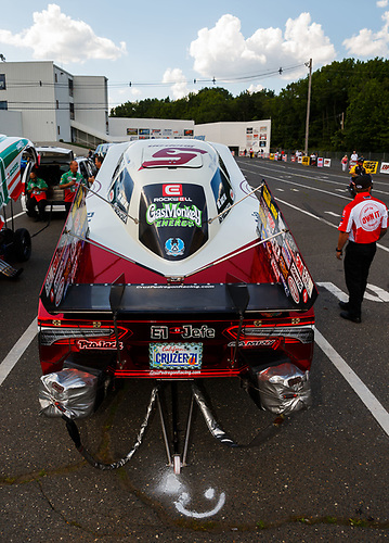 NHRA Mello Yello Drag Racing Series<br /> NHRA Summernationals<br /> Old Bridge Township Raceway Park, Englishtown, NJ USA<br /> Friday 9 June 2017 Cruz Pedregon, Snap-On, Toyota, Camry, Funny Car<br /> <br /> World Copyright: Mark Rebilas<br /> Rebilas Photo