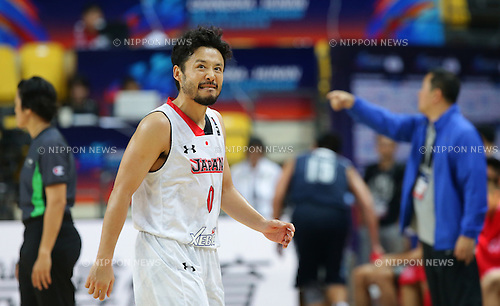 Yuta Tabuse (JPN), SEPTEMBER 29, 2015 - Basketball : 2015 FIBA Asia Championship for Men Group E match between Japan 89-62 Hong Kong at Changsha Social Work College's Gymnasium in Changsha, China. (Photo by Yoshio Kato/AFLO)