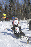 John Stetson Anchorage Start Iditarod 2008.