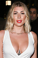 Olivia Buckland arriving for James Ingham's Jog on to Cancer 2018 at Cafe de Paris, London, UK. <br /> 04 April  2018<br /> Picture: Steve Vas/Featureflash/SilverHub 0208 004 5359 sales@silverhubmedia.com