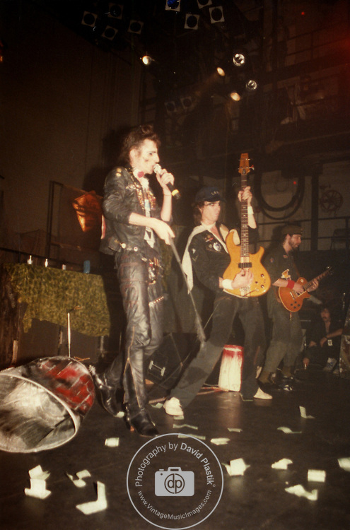 ALICE COOPER, Erik Scott, Danny Johnson