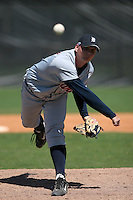 Detroit Tigers minor leaguer Josh Rainwater during Spring Training at the Chain of Lakes Complex on March 17, 2007 in Winter Haven, Florida.  (Mike Janes/Four Seam Images)