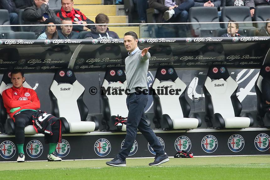 Trainer Niko Kovac (Eintracht) - Eintracht Frankfurt vs. TSG 1899 Hoffenheim, Commerzbank Arena