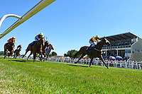 Winner of The Inspire Foundation Veterans' Handicap   Rio Ronaldo ridden by Adrea Atzeni during Whitsbury Manor Stud Bibury Cup Day Racing at Salisbury Racecourse on 27th June 2018