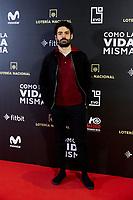 Nico Romero attends to 'Como la Vida Misma' film premiere during the 'Madrid Premiere Week' at Callao City Lights cinema in Madrid, Spain. November 12, 2018. (ALTERPHOTOS/A. Perez Meca) /NortePhoto.com