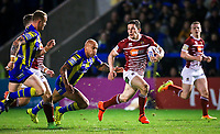 Picture by Alex Whitehead/SWpix.com - 09/03/2017 - Rugby League - Betfred Super League - Warrington Wolves v Wigan Warriors - Halliwell Jones Stadium, Warrington, England - Wigan's Morgan Escare makes a break.