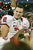 January 5th, 2008:  Rutgers lineman Mike Flasdell (72) smiles during the celebration after the International Bowl at the Rogers Centre in Toronto, Ontario Canada...Rutgers defeated Ball State 52-30.  ..Photo By:  Mike Janes Photography
