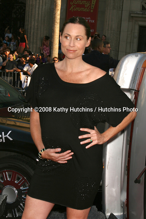 """Minnie Driver arriving at Grauman's Chinese Theater for  the premiere of """"Hancock"""" in Los Angeles, CA on.June 30, 2008.©2008 Kathy Hutchins / Hutchins Photo ."""