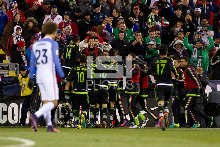 Columbus, Ohio - Friday, November 11, 2016: prior to a USMNT vs Mexico WCQ at Mapfre Stadium.