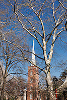 Steeple, St Peter's Church, Philadelphia, Pennsylvania, USA